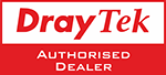 DrayTek Logo Authorised Dealer