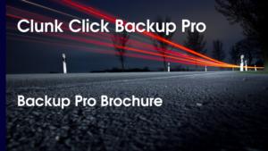Backup Pro Brochure